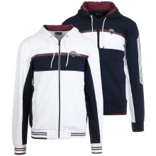 SWEAT EA7 TENNIS CASUAL SPORTY ZIPPE A CAPUCHE