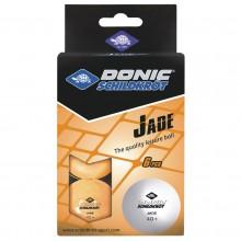 BALLES TT 40 DONIC-SCHILDKROT JADE POLY 40+ SPARE TIME X6