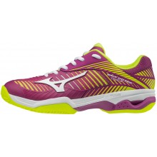 CHAUSSURES MIZUNO FEMME WAVE EXCEED TOUR 3 TERRE BATTUE
