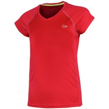 T-SHIRT DUNLOP JUNIOR FILLES CREW