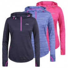 SWEAT RUNNING A CAPUCHE LI-NING FEMME FLASH
