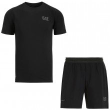 PACK EA7 TRAVEL T-SHIRT + SHORT DYNAMIC VENTUS7