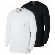 T-SHIRT NIKE COURT HERITAGE MANCHES LONGUES