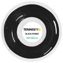BOBINE TENNISPRO BLACK POWER (220 METRES)