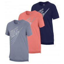 T-SHIRT NIKE JUNIOR FILLE SPORTSWEAR AVEC GRAND LOGO