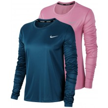 T-SHIRT NIKE FEMME MILER MANCHES LONGUES