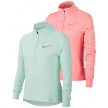 T-SHIRT NIKE JUNIOR FILLE MANCHES LONGUES 1/2 ZIP