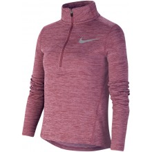 T-SHIRT NIKE JUNIOR FILLE 1/2 ZIP MANCHES LONGUES