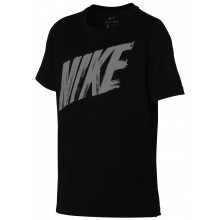 T-SHIRT NIKE JUNIOR DRI-FIT MANCHES COURTES LOGO