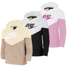SWEAT NIKE FEMME WINDRUNNER FLEECE A CAPUCHE ZIPPE
