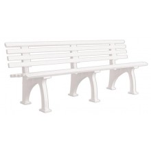 BANC BLANC 3 PLACES 2 METRES