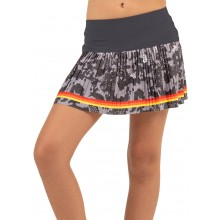 JUPE LUCKY IN LOVE JUNIOR CAMO GROOVE PLEATED