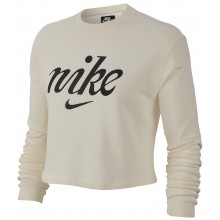 SWEAT NIKE FEMME CROP TOP RAS DU COU