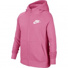 SWEAT NIKE JUNIOR FILLE A CAPUCHE ZIPPE