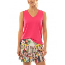JUPE LUCKY IN LOVE HI HOT TROPIC PLEATED SCALLOP