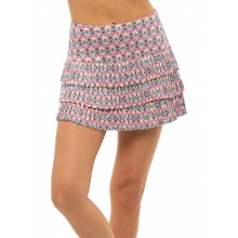 JUPE LUCKY IN LOVE LONG DIAMOND PLEATED