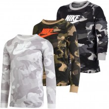 T-SHIRT NIKE JUNIOR CAMOUFLAGE MANCHES LONGUES