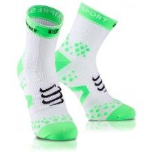CHAUSSETTES COURTES COMPRESSPORT RACKET STRAPPING PRO RACING