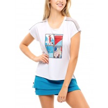 T-SHIRT LUCKY IN LOVE FEMME STAMP IT