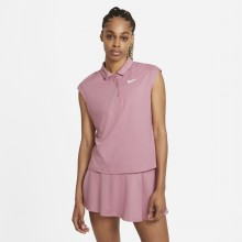 POLO NIKE COURT FEMME VICTORY SANS MANCHES