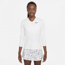 T-SHIRT NIKE COURT FEMME DRI-FIT VICTORY MANCHES 3/4