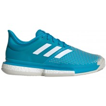 CHAUSSURES ADIDAS SOLECOURT BOOST TSONGA/POUILLE PARIS TERRE BATTUE