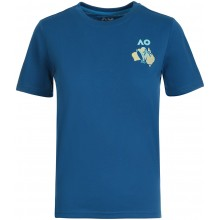 T-SHIRT JUNIOR GARCON AUSTRALIAN OPEN 2021 MELBOURNE CREW