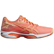 CHAUSSURES ASICS FEMME GEL SOLUTION SOLUTION SPEED 3 EXCLUSIVE TERRE BATTUE
