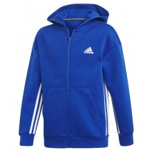 SWEAT A CAPUCHE ADIDAS ZIPPE TRAINING JUNIOR MUST HAVE 3S