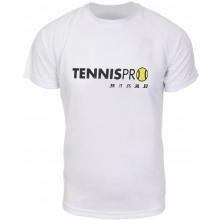 TEE-SHIRT TENNISPRO.FR TECHPRO BLANC