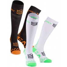 CHAUSSETTES HAUTES COMPRESSPORT RACKET PLAY&DETOX