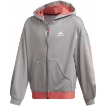 SWEAT A CAPUCHE ADIDAS JUNIOR FILLE AEROREADY ZIPPÉ