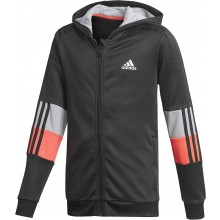 VESTE A CAPUCHE ADIDAS JUNIOR GARCON 3 STRIPES