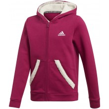SWEAT ADIDAS JUNIOR FILLE A CAPUCHE ZIPPE