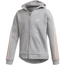 SWEAT A CAPUCHE ADIDAS JUNIOR FILLE 3 STRIPES ZIPPÉ