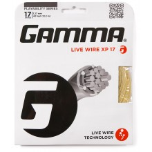 CORDAGE GAMMA LIVE WIRE XP 1.27 mm (17) beige