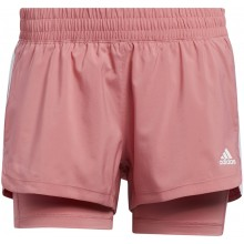 SHORT ADIDAS FEMME PACER 3S 2IN1