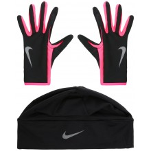 ENSEMBLE NIKE FEMME DRI FIT BONNET-GANTS
