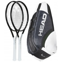 PACK HEAD GRAPHENE 360 SPEED MP 2 RAQUETTES + 1 SAC = -10%