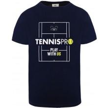 T-SHIRT PLAY TENNISPRO COTON