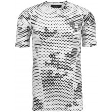 T-SHIRT COMPRESSION HYDROGEN PRINTED SECOND SKIN MANCHES COURTES