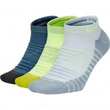 3 PAIRES DE CHAUSSETTES NIKE MAX CUSHION INVISIBLE