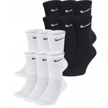 6 PAIRES  DE CHAUSSETTES NIKE CUSHION EVERYDAY MI-HAUTES
