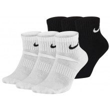 3 PAIRES  DE CHAUSSETTES NIKE CUSHION EVERYDAY QUARTER