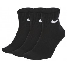 3 PAIRES  DE CHAUSSETTES NIKE LIGHTWEIGHT ANKLE