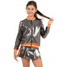VESTE LUCKY IN LOVE JUNIOR METALLIC GROOVY STRIPE