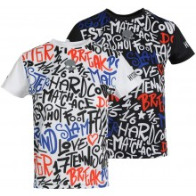 T-SHIRT HYDROGEN JUNIOR GRAFFITI TECH
