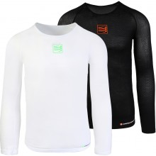 T-SHIRT ML COMPRESSPORT RACKET COMPRESSION
