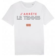 T-SHIRT TENNIS LEGEND J'ARRETE LE TENNIS