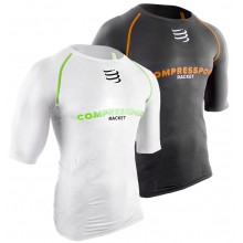 T-SHIRT COMPRESSPORT RACKET COMPRESSION